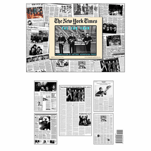 NY Times Newspaper Compilation - The Life and Times of the Beatles