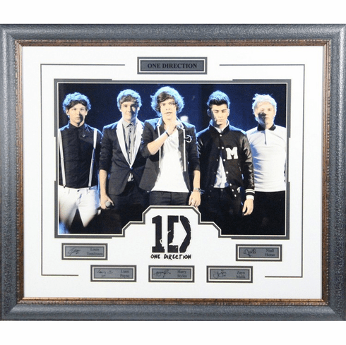 One Direction Facsimile 26x30 Framed Photo Collage