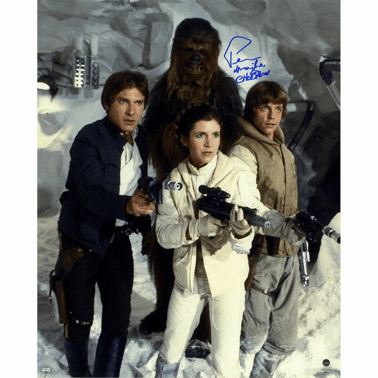 Peter Mayhew Signed Photo 16X20