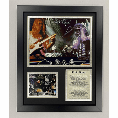 "Pink Floyd 12""x15"" Framed Photo Collage"