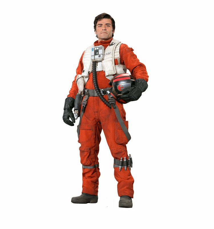 Poe Star Wars VII: The Force Awakens Cardboard Cutout