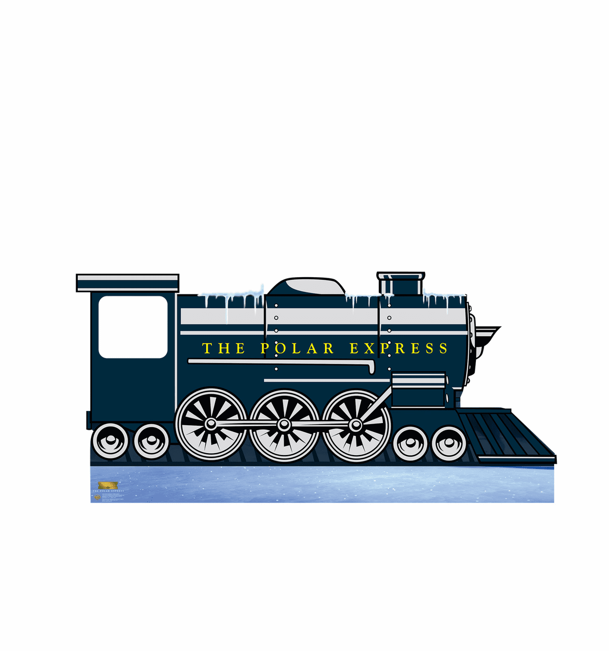 Polar Express Train Stand In
