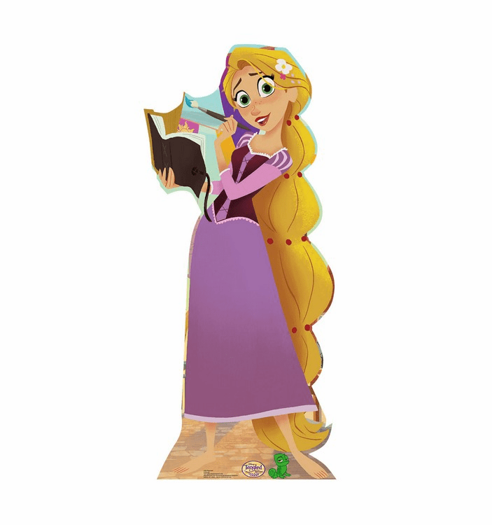 Rapunzel Disney's Tangled the Series Standee