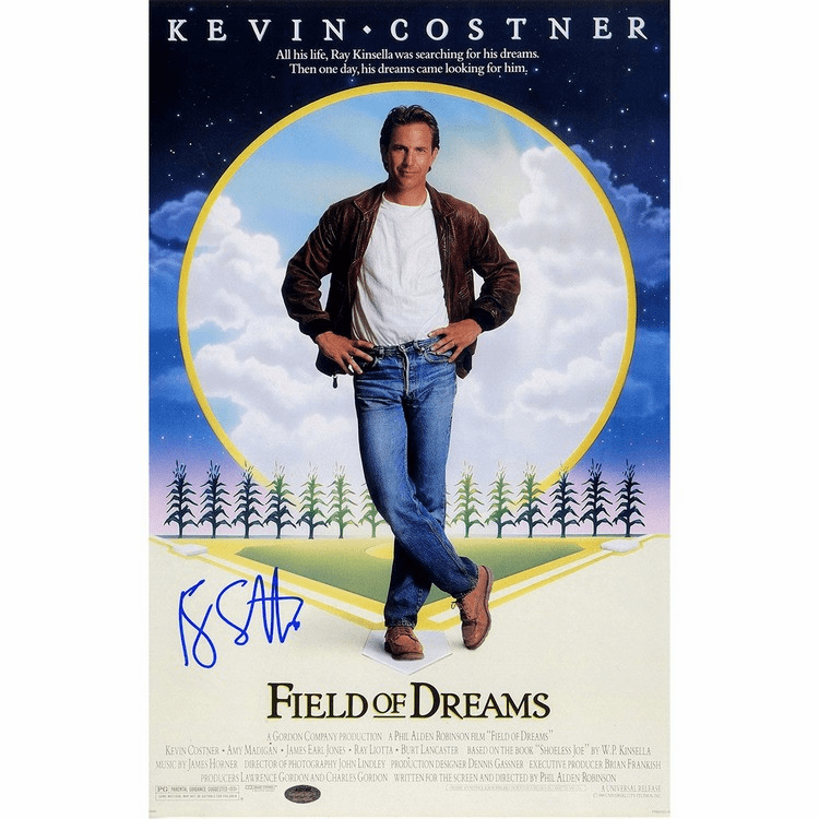 Ray Liotta Signed Field of Dreams 11x17 Poster (SchwartzSports Auth)