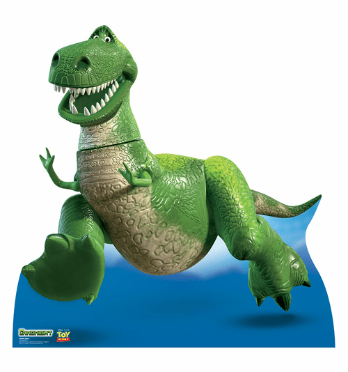 REX Toy Story Dinomight Cardboard Cutout