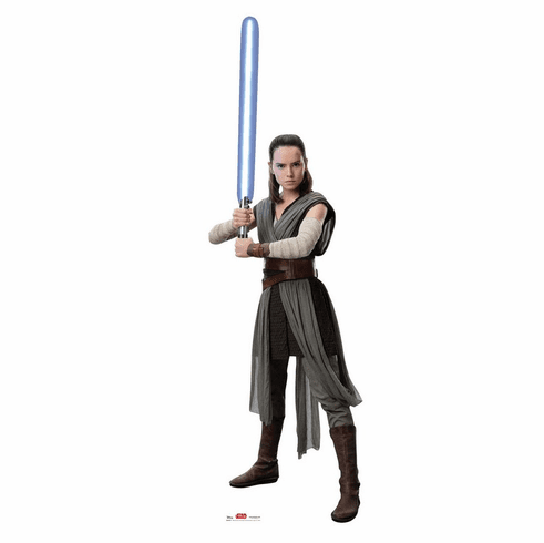 Rey Star Wars VIII The Last Jedi Standee