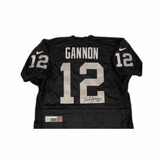 Rich Gannon Oakland Raiders Authentic Autographed Wilson Jersey