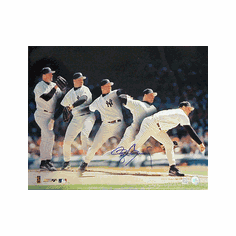 Roger Clemens New York Yankees Autographed Photofile 16x20 Photograph
