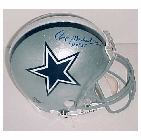 Roger Staubach Dallas Cowboys Authentic Autographed NFL Helmet