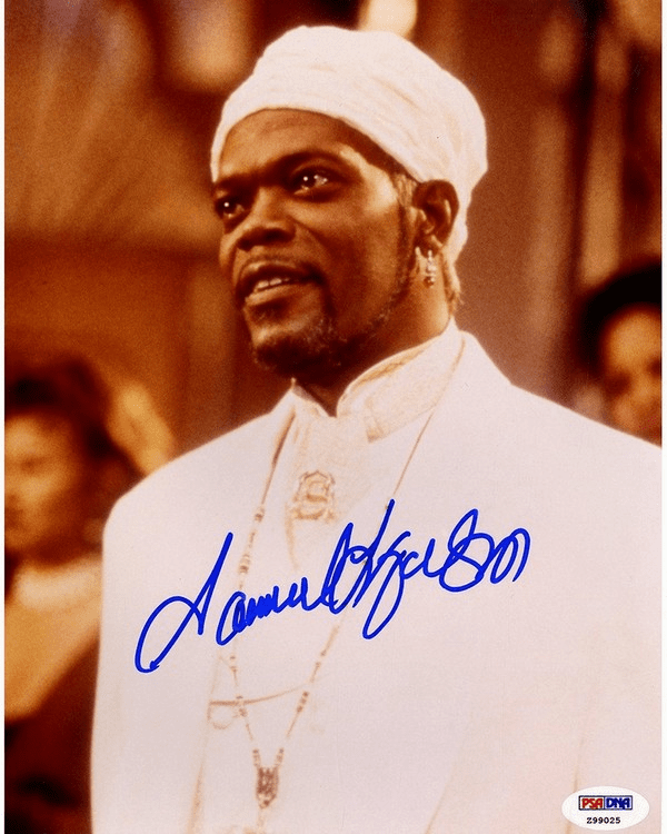 Samuel L. Jackson Signed �The Great White Hype� 8x10 Photo (PSA/DNA)