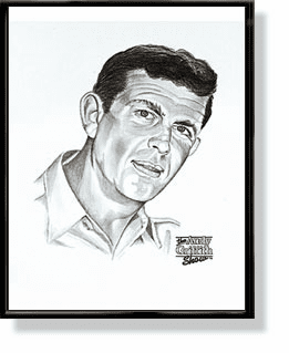 Sheriff Andy Taylor Lithograph