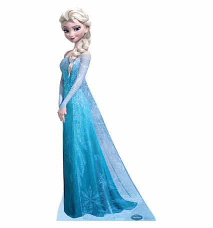 Snow Queen Elsa Frozen Standee