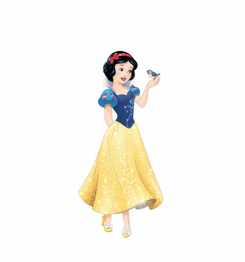 Snow White Disney Princess Friendship Adventures Cardboard Cutout