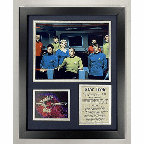 Star Trek Bridge Crew Collectible Framed Photo Collage