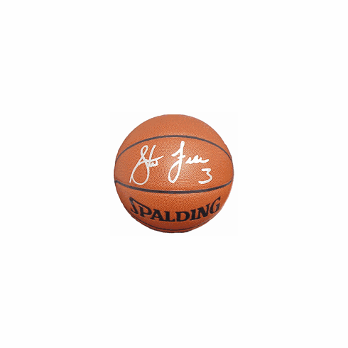 Steve Francis Houston Rockets Autographed Spalding Official Basketball