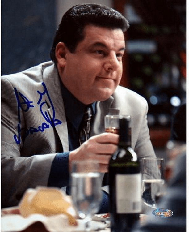 Steve Schirripa At Dinner Table 8x10 Photo