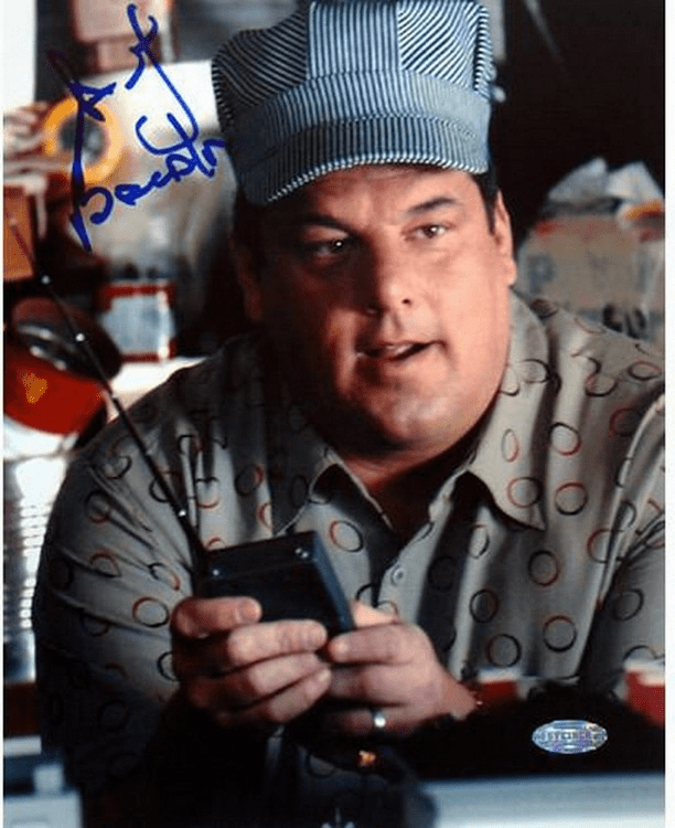Steve Schirripa Conductor Hat 8x10 Photo