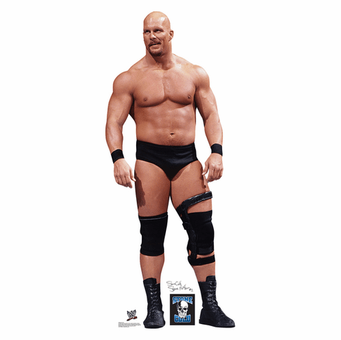 Stone Cold WWE Standee