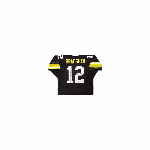 Terry Bradshaw Pittsburgh Steelers Authentic Autographed Custom Jersey