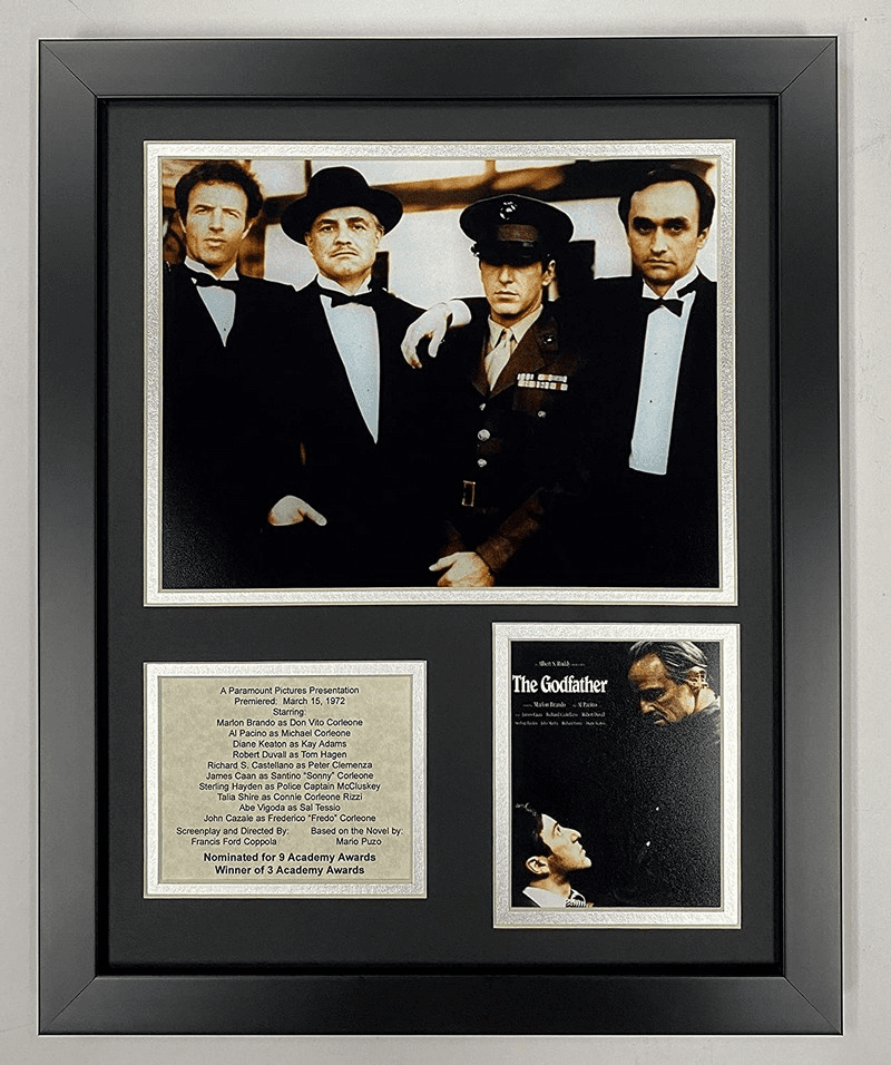 The Godfather Collectible Framed Photo Collage