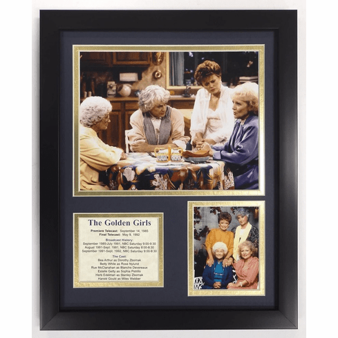 The Golden Girls Framed Photo Collage 11 x 14-Inch