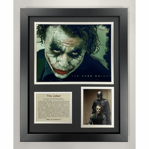 The Joker Framed Photo Collage 11x14-Inch