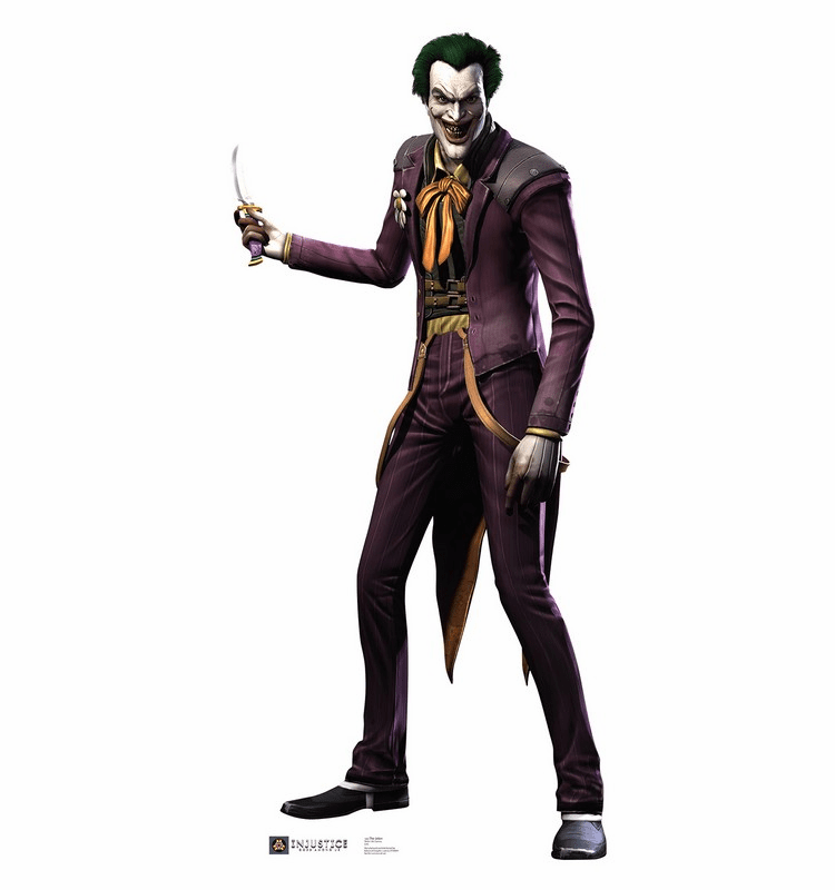 The Joker Injustice DC Comics Game Standee