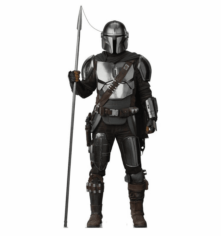 The Mandalorian with Spear Standee - Season 2