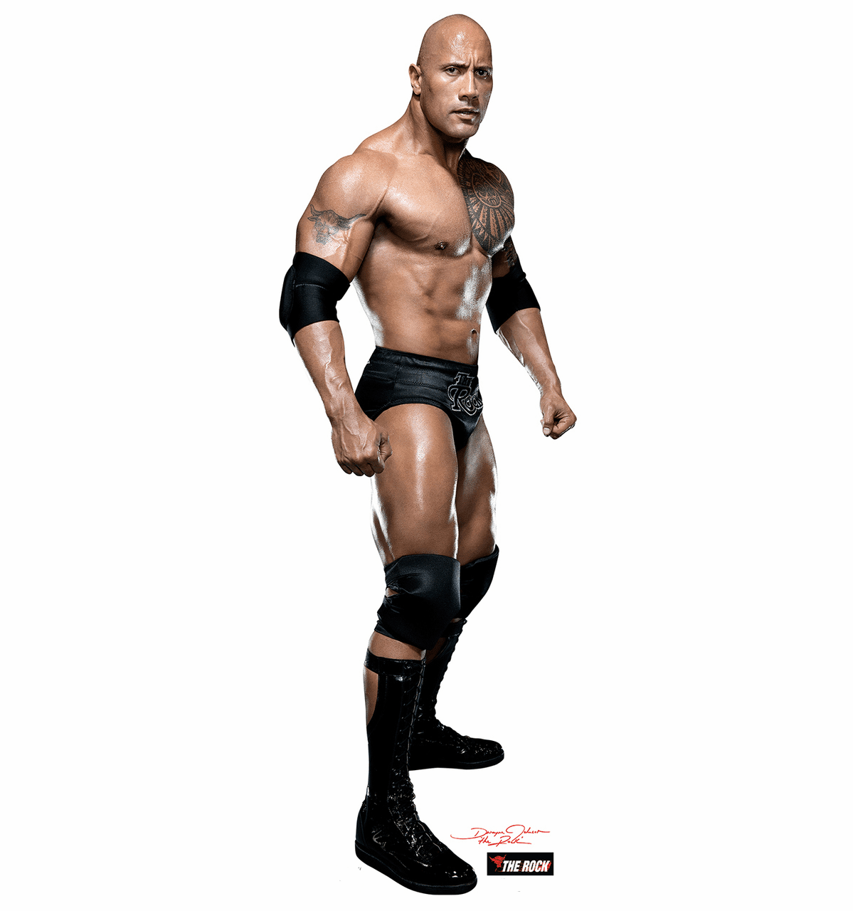 The Rock Standee