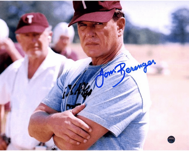 Tom Berenger Signed �Bear Bryant� Junction Boys 8x10 Photo