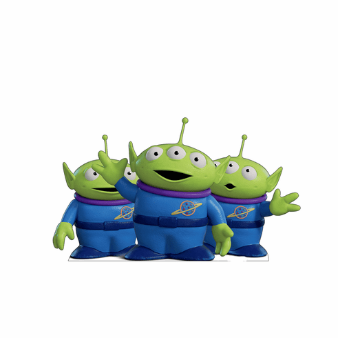 Toy Story Aliens Standee