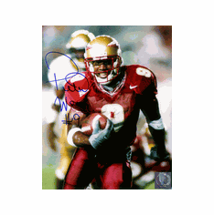 Tri-Star Peter Warrick Florida State Autographed Pro Look 16x20 Photo