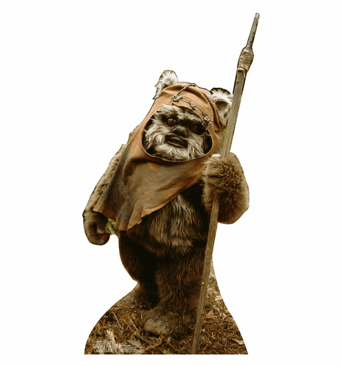 Wicket Star Wars Standee
