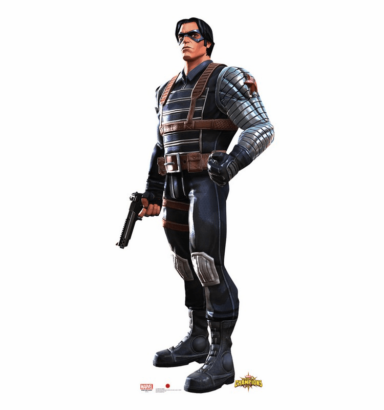 Winter Soldier Marvel Contest of Champions Game Standee