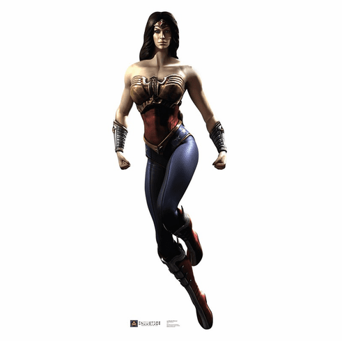 Wonder Woman Injustice DC Comics Game Standee