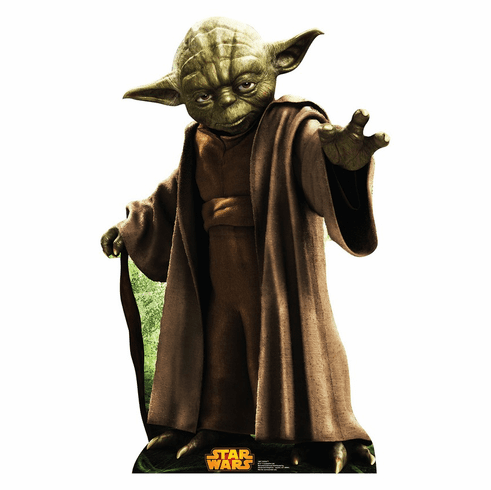 Yoda Star Wars Classics Retouched Standee