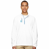Adidas Golf Puremotion Mixed Media Quarter-Zip