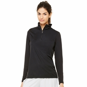 All Sport Ladie's 1/4 Zip Lightweight Pullover