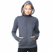 All Sport Ladie's Performance Fleece Full-Zip Hoodie with Runner's Thumb