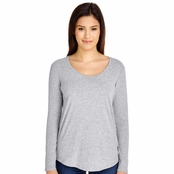 American Apparel Ladies Long-Sleeve Ultra Wash T-Shirt