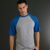 Augusta 50/50 Short-Sleeve Raglan T-Shirt
