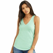 Bella Canvas Ladie's Flowy V-Neck Tank