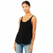 Bella + Canvas Ladies Flowy Side Slit Tank