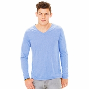 Bella Canvas Long-Sleeve V-Neck T-Shirt