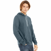 Bella Canvas Unisex Poly-Cotton Fleece Pullover Hoodie
