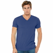 Bella Canvas Unisex Triblend Short-Sleeve V-Neck T-Shirt