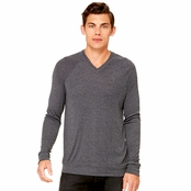 Bella Canvas Unisex V-Neck Lightweight Sweater