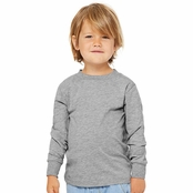 Bella + Canvas Youth Toddler Jersey Long Sleeve T-Shirt