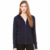 Bella Canvas French Terry Full-Zip Hooded Sweatshirt