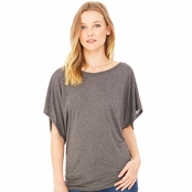 Bella Canvas Ladie's Flowy Draped Dolman T-Shirt